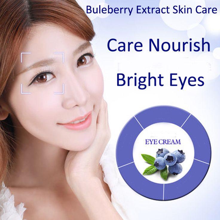 2PCS Blueberry Eye Cream Anti Age Dark Circle Remover Moisturizer Eye Skin Care Produt Maquillage