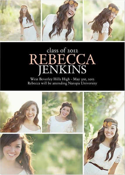 add a photo and personalize your announcement with all the important graduation day details - Graduation Invitations Pinterest