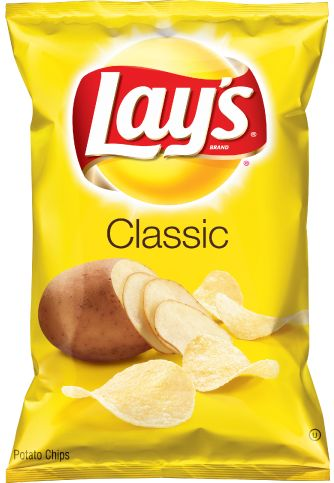 LAY'S Classic Potato Chips vegetarian and halal verified 03/03/2016 1-800-352-4477