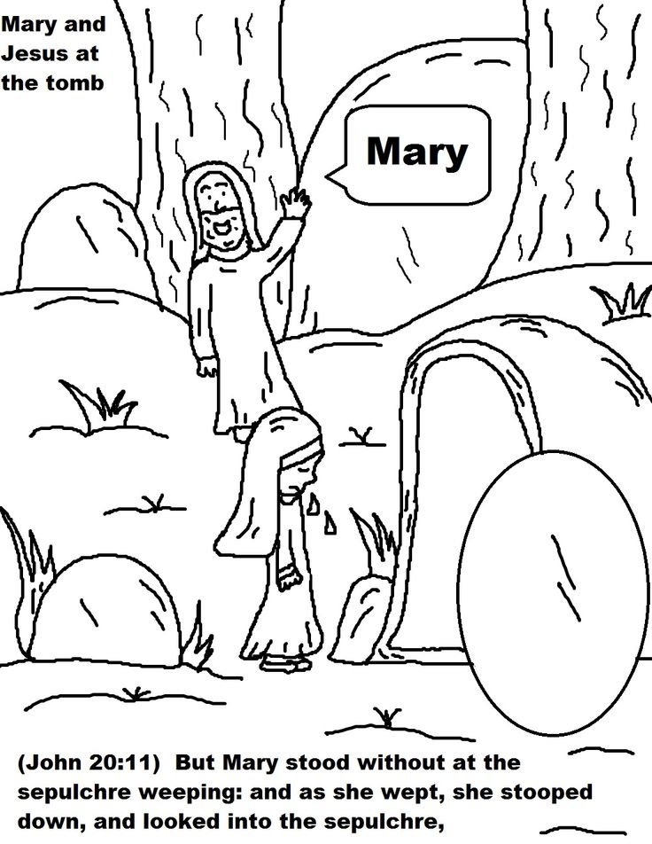 Christian Easter Coloring Pages For Preschoolers : 105 best easter images on pinterest