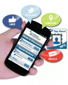 Social Passport Marries NFC With Social Media For A New Spin On Mobile Deals