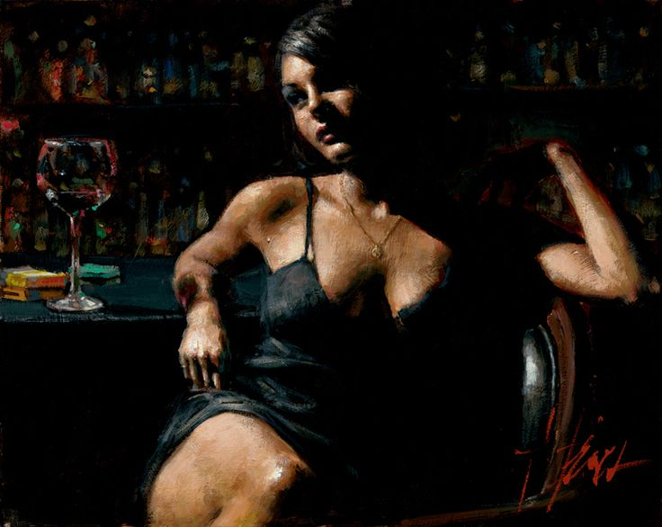 Fabian Perez Saba At Las Brujas Iii Signed And