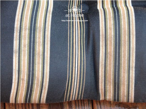 B.E. Interiors: Cleaning Outdoor Cushions