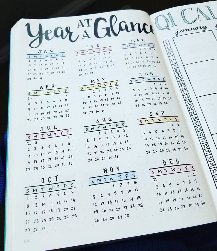 Year at a Glance - 2017  I love that I can check dates with once glance. We planners love to know when things are going down!  #bujojunkies #bujo #bulletjournal #bullet #journaling #journal #tracker #habittracker #habit #bujotracker #planwithme #planwithmechallenge #weightloss #weighttracker #daily #dailydoing #dailytracker #leuctturm1917 #bulletjournallove #bohoberrytribe #bulletjournalcommunity