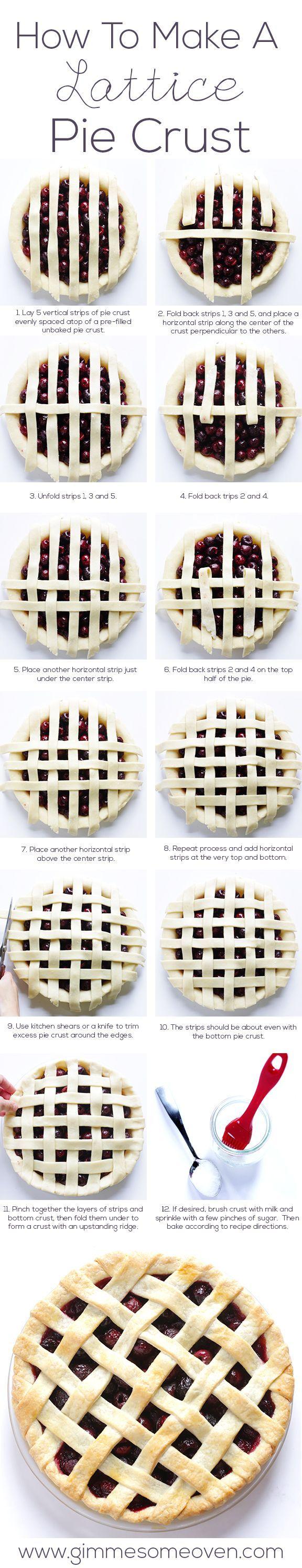 A arte de confeitar: Como fazer uma treliça para torta