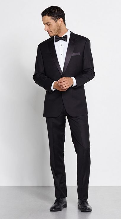 The Black Tux - the Broadway Outfit.