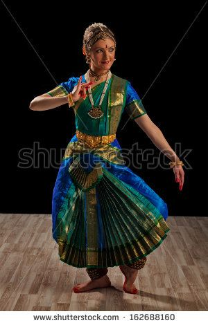 how to wear a bharatanatyam dance dress