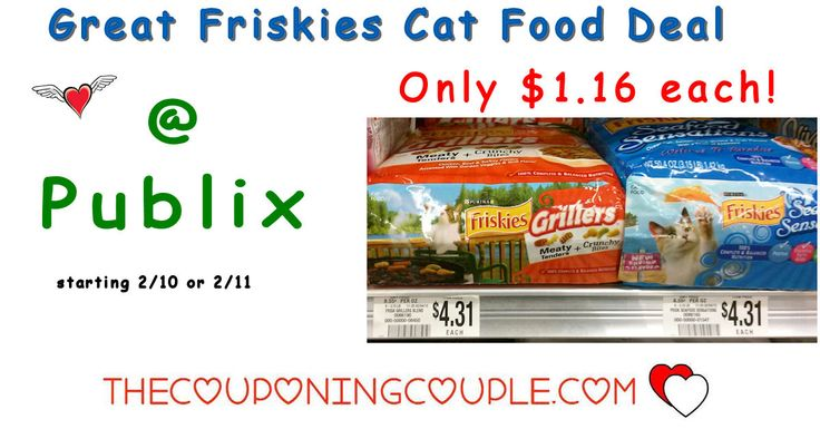 Cheap Friskies Dry Cat Food @ Publix starting 2/10 or 2/11. Check out this great deal we have coming on food for the kitties next week. Good stock up price!  Click the link below to get all of the details ► http://www.thecouponingcouple.com/cheap-friskies-dry-cat-food-publix-starting-210/ #Coupons #Couponing #CouponCommunity  Visit us at http://www.thecouponingcouple.com for more great posts!