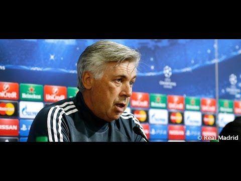Video Conferencia de prensa de Carlo Ancelotti y Álvaro Arbeloa