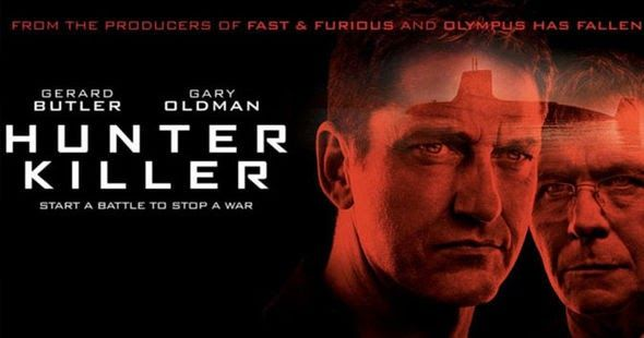Here's our review for the new submarine movie Hunter Killer