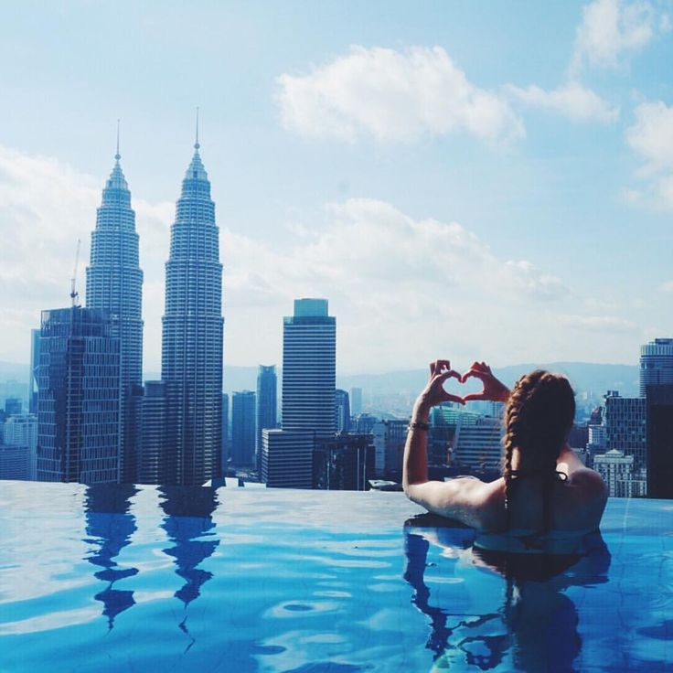 """Infinity pool overlooking Kuala Lumpur, Malaysia <3 - 123 Likes, 12 Comments - Sarah   Ranga Adventures  (@rangaadventures) on Instagram: """"Just two more days in Indonesia before I have to fly back to Kuala Lumpur for my flight home  I…"""""""