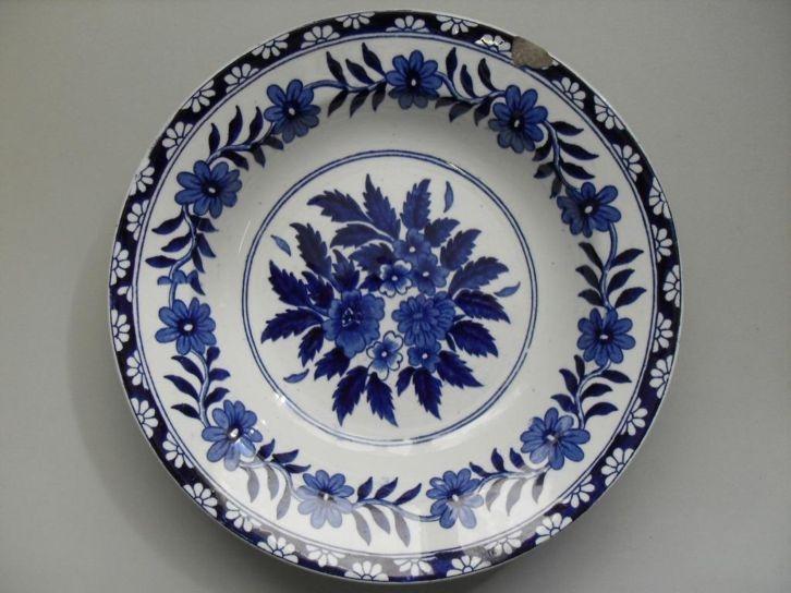 Marktplaats.nl - Diep bord Kembang Societe Ceramique Maastricht - Antiek | Servies los