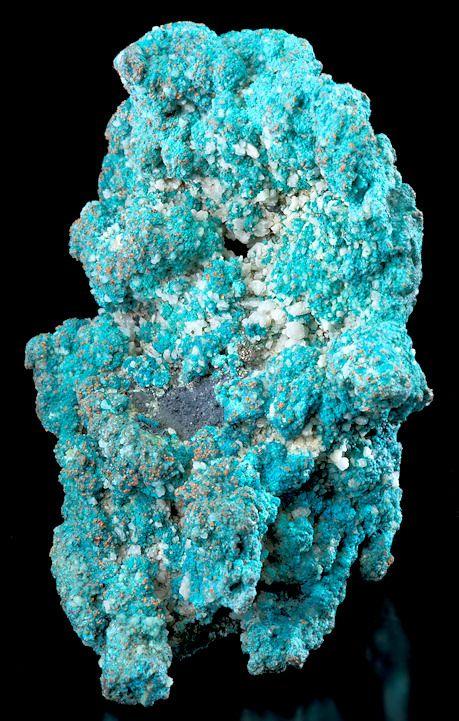 Rare cornish specimen/w turquoise crystals on native copper!!!!      Rare          Tucson2012-84TurquoiseWhealPhoenixEngland