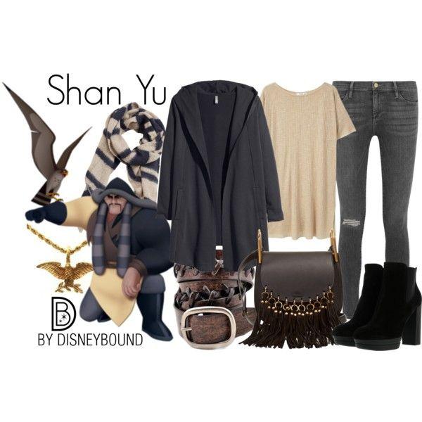 Disney Bound - Shan Yu