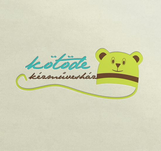 Fotó Web Grafika » Knitted pieces house crafts logo