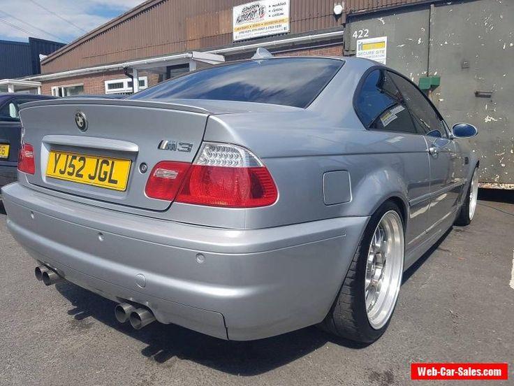 2002 BMW E46 M3 SMG SILVER #bmw #m3 #forsale #unitedkingdom