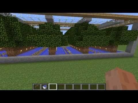 Tutorial Generador de Manzanas (granja) Minecraft Ep5 - YouTube