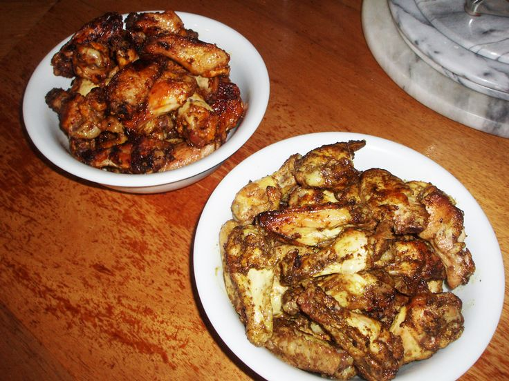 Spicy 'State of Origin' Chicken Wings | www.AfrikozSpices.com.au