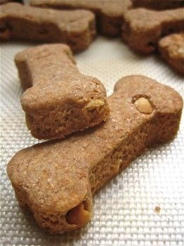 Dog cookies dogs and people can eat. Nero is in love! I substituted almond butter and almond milk in