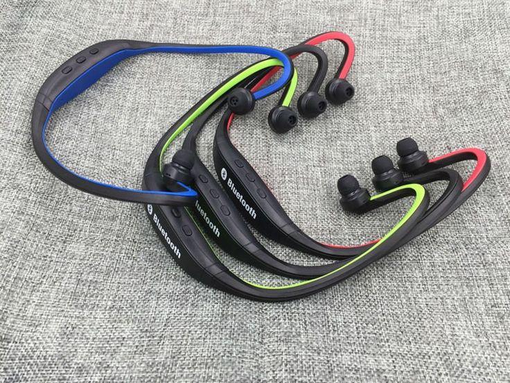 Audífonos Bluetooth sport S9 con ranura para memoria
