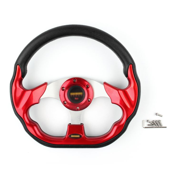Mad Hornets - Universal 320mm Car Sport Steering Wheel PU Leather Sport F1 Auto Red, $39.99 (http://www.madhornets.com/universal-320mm-car-sport-steering-wheel-pu-leather-sport-f1-auto-red/)