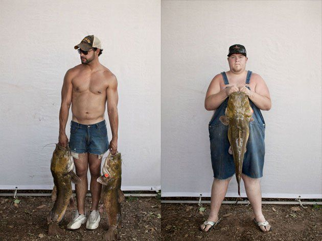 Inspired by Richard Avedon's American West and a small town Arkansas photographer named Mike Disfarmer, photographer Matt Rainwaters' renditionis simple in idea and execution, but intriguing and a...: