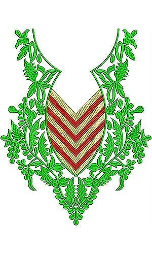 Algeria Women   Designer Clothing Embroidery Design
