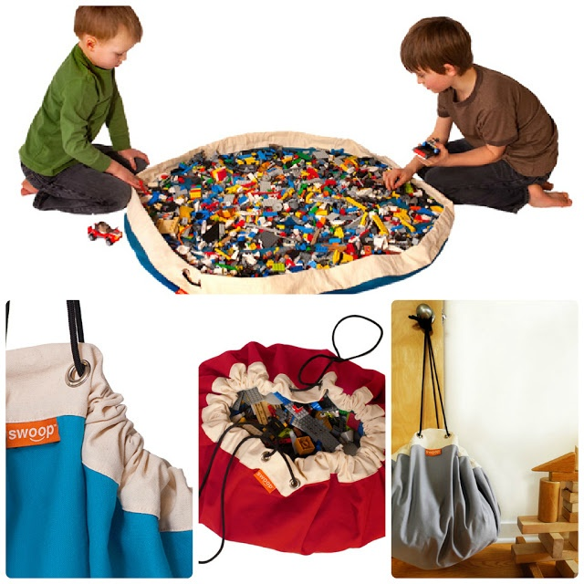 Clean & Scentsible: Lego Storage. Has some other neat things on her blog for boys toys