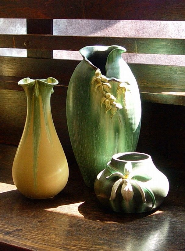 Arts and crafts pottery decor style pinterest for Arts and crafts pottery