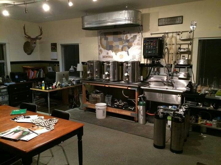 nice home brewery setup - Home Brewery Design