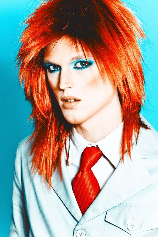 > David Bowie tributo / Foto editorial / LENINBÄK estudio. Foto & video.
