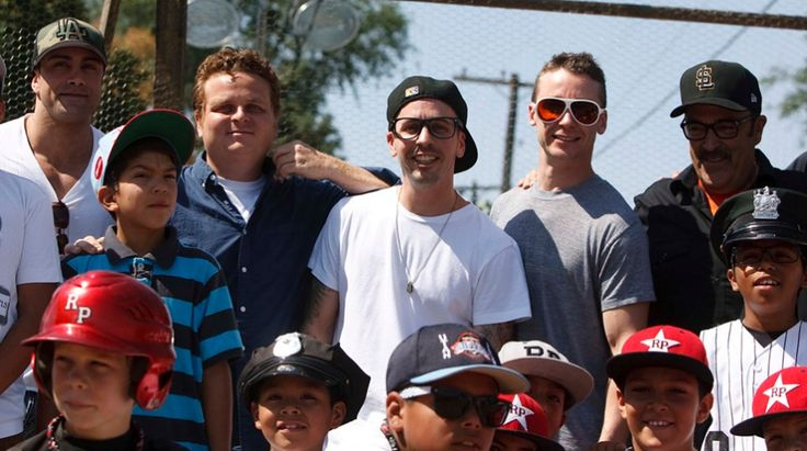 "The cast of ""The Sandlot"" reunited for the movie's 20th anniversary. More here: http://deadsp.in/XSq2bvQ"