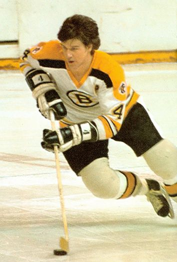 Bobby Orr from Parry Sound, Ontario - visit the Bobby Orr Hall of Fame :-)