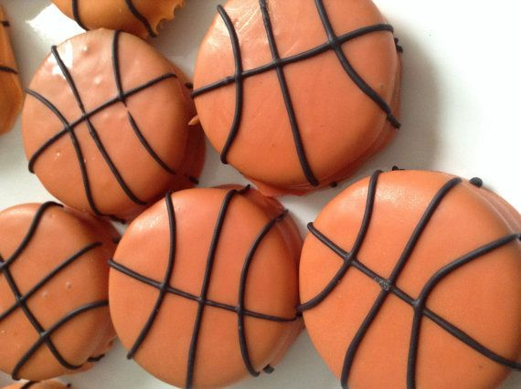 Basketball Party Favors March Madness Favors Chocolate Covered Oreos Favors Basketball Theme Party Favors NBA Party Favors Sports Favors