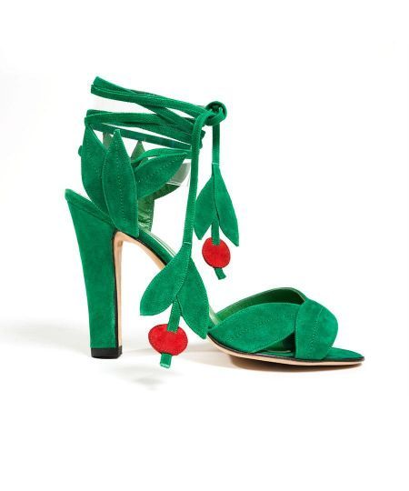 Manolo Blahnik. Re-issue of the 1971 design for Ossie Clark, 2012. From the collection of Lynn Ban.
