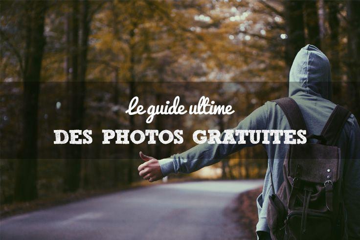 Lien pour sites de photos libres de droits.
