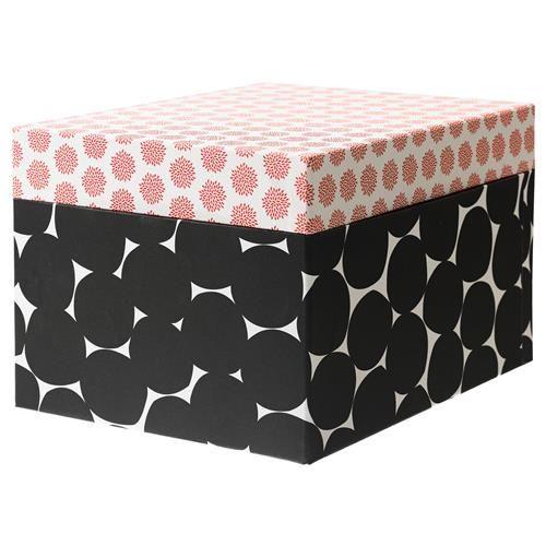KVITTRA κουτί με καπάκι - IKEA.  Και η οργάνωση μπορεί να αποκτήσει στιλ!