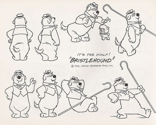 hanna barbera model sheets ★ || CHARACTER DESIGN REFERENCES (www.facebook.com/CharacterDesignReferences & pinterest.com/characterdesigh) • Love Character Design? Join the Character Design Challenge (link→ www.facebook.com/groups/CharacterDesignChallenge) Share your unique vision of a theme every month, promote your art and make new friends in a community of over 20.000 artists! || ★