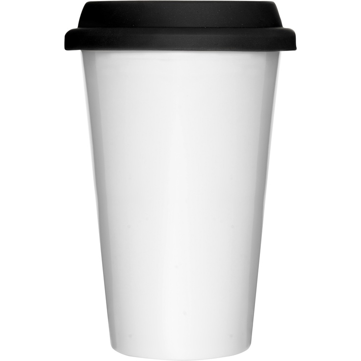 Sagaform XL White Takeaway Mug