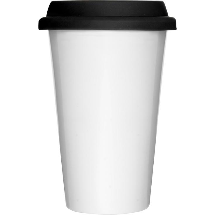 Sagaform XL White Takeaway Mug