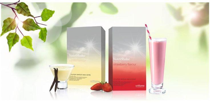 Nutrishake Vanilla and Strawberry