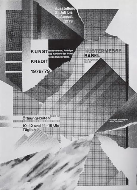 Flyer Goodness: Swiss Punk Typography by Wolfgang Weingart