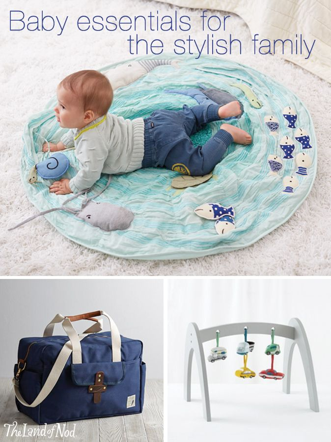 Having a baby doesn't have to mean surrounding yourself with childish design. You can have both function and fashion with stylish baby gear and essentials.