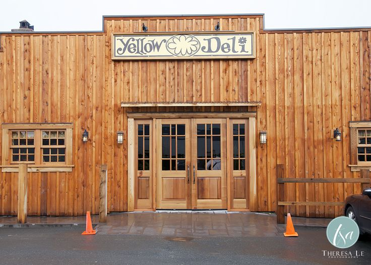 The Yellow Deli in downtown Chilliwack.