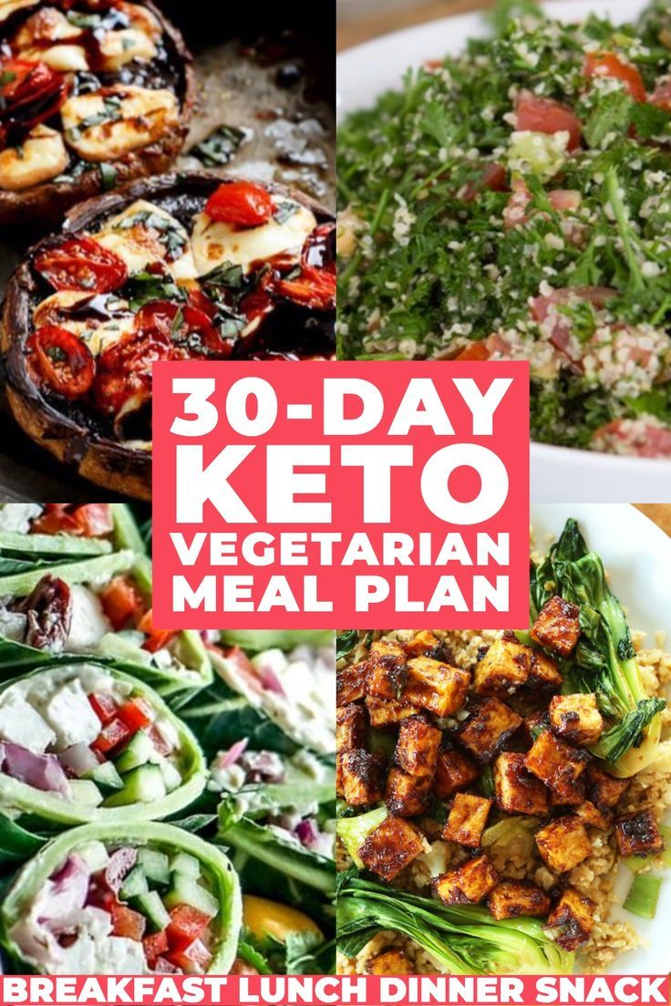 Keto Diet For Vegetarians 30 Day Vegetarian Keto Meal Plan