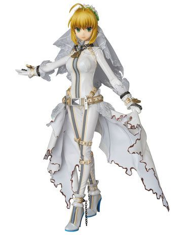 Fate/Extra CCC RAH Actionfigur 1/6 Saber Bride 30 cm