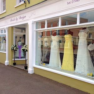 We are a small family business situated in the town of Warminster, just 20mins from both Bath & Salisbury. We have a beautiful selection of designer wedding dresses from