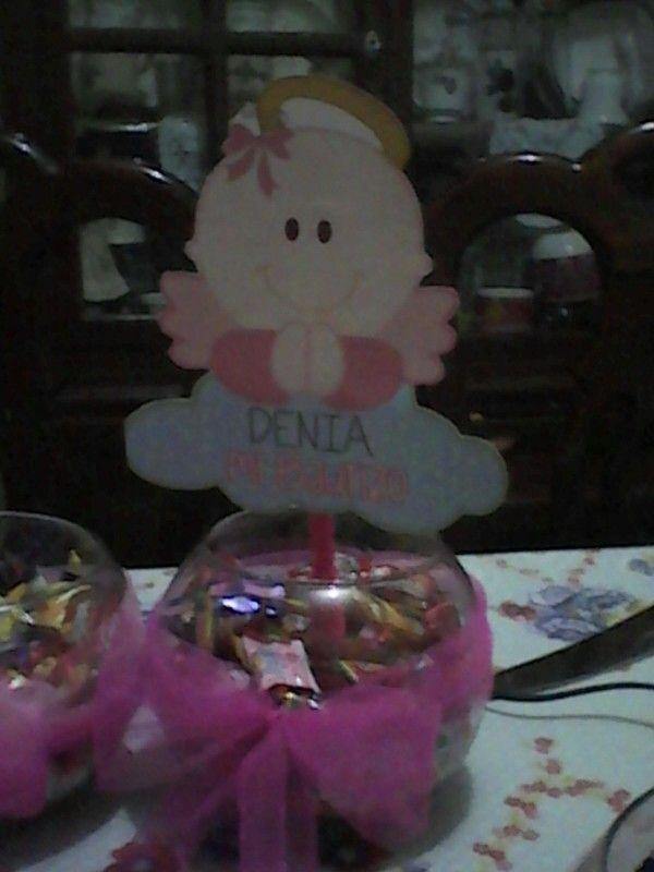 Centro de mesa peceracandy decorar pecera pinterest - Centros de mesa con peceras ...