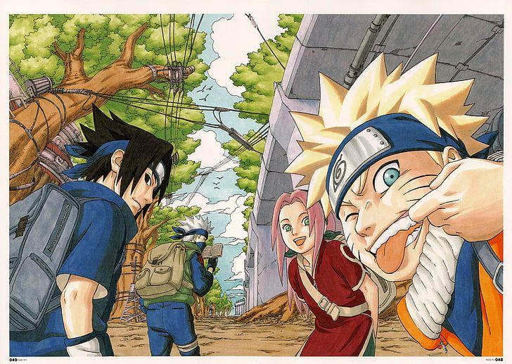 Naruto Team 7 Digital Wallpaper Naruto Shippuuden Masashi Kishimoto Hd Wallpaper Naruto Team 7 Best Naruto Wallpapers Wallpaper Naruto Shippuden