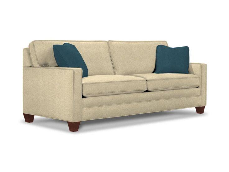 Sherrill Living Room Two Cushion Sofa 3135 3   Sherrill Furniture    Hickory, NC